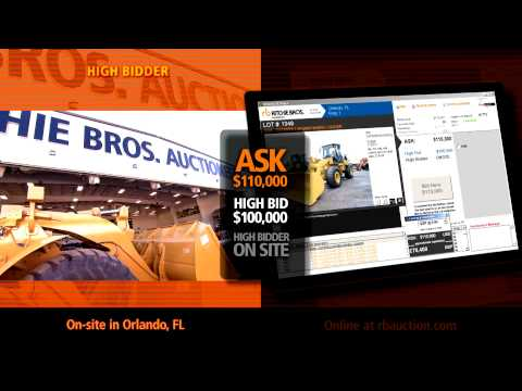 Live equipment auctions with on-site & online bidding - Ritchie Bros. Auctioneers