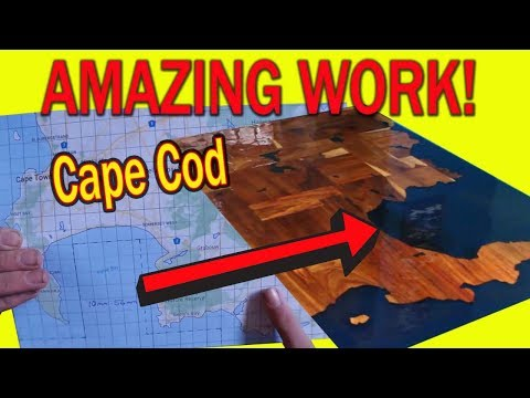 Epoxy Countertop - Homemade CAPE COD Edition