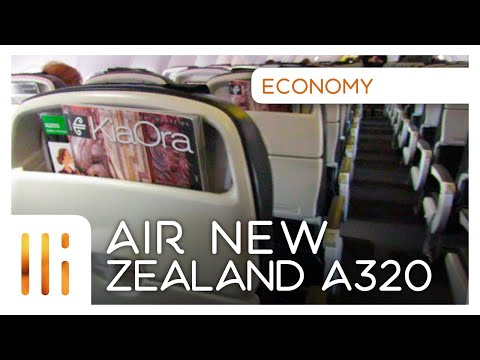 Air New Zealand A320: FLIGHT REVIEW Auckland - Christchurch