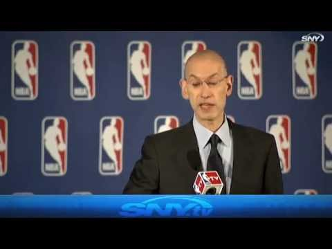 Adam Silver bans Donald Sterling from the NBA