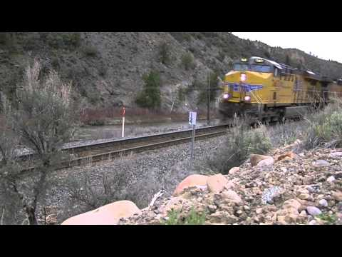 Railroad Action in Colorado - May 1 2011 (Part 4)