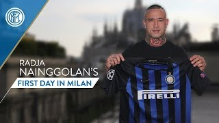 RADJA NAINGGOLAN | First day at Inter | #WelcomeNinja