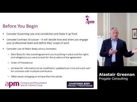 APM Guide to Contracts and Procurement, Prepare Contract Terms by Alastair Greenan
