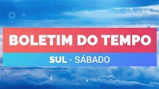 Previsão Sul – Risco de chuva forte em Curitiba
