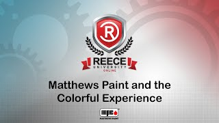 ReeceU - Matthews - Matthews Paint and the Colorful Experience