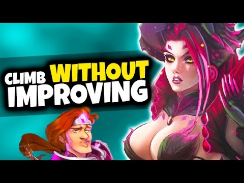 How to Climb WITHOUT Improving! The Power of Dodge/Mute - League of Legends