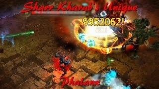 Sharr Kharab's Unique - 9.950.000 Damage ☆ Drakensang Online