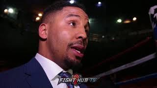 ANDRE WARD DEMANDS ALL WELTERWEIGHTS SHOULD WANT TO FIGHT THE BEST! TALS SPENCE VS CRAWFORD