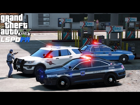 GTA 5 LSPDFR Mod 370 | Seattle Police Department & Washington State Highway Patrol Live Stream