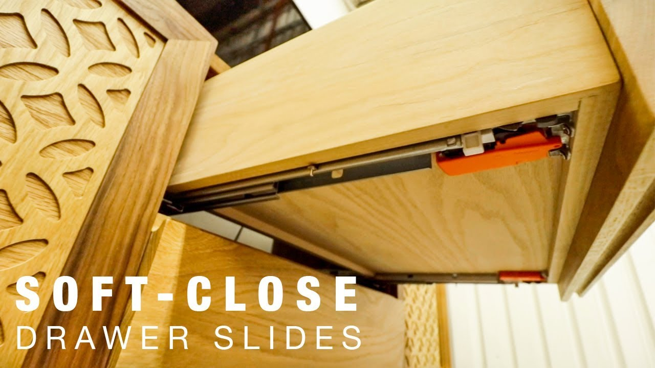 How To Install Blum Soft Close Undermount Drawer Slides