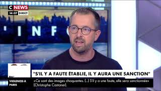 Intervention de loïc Travers, Secrétaire National Ile de France, sur C NEWS.