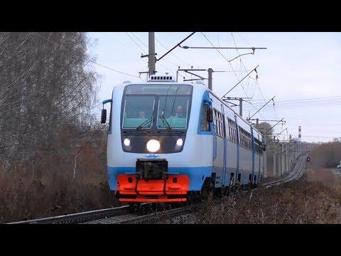 Рельсовый автобус РА2-077 сообщением Екатеринбург-Пасс. - Верхний Уфалей