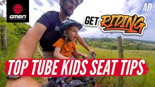 Kids Ride Shotgun Unboxing | How To Fit & Ride With A Top-Tube Kids Seat