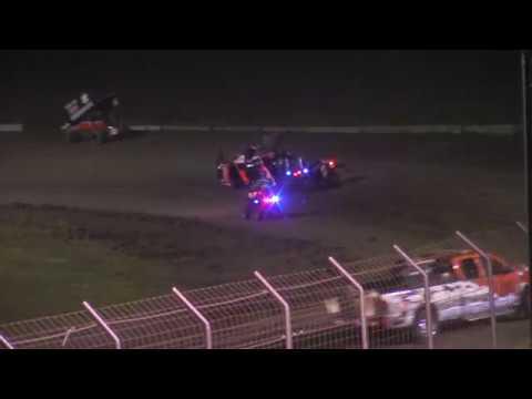 #4 Cody Hansen flip at Park Jefferson Speedway