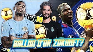 DIE WELTFUßBALLER DER NÄCHSTEN 10 JAHRE IN FIFA 18 !!! 🏆😲 - FIFA 18 Experiment #15