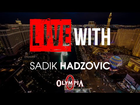 LIVE WITH SADIK HADZOVIC!  (Powered by Results Nutrition) | RX Television