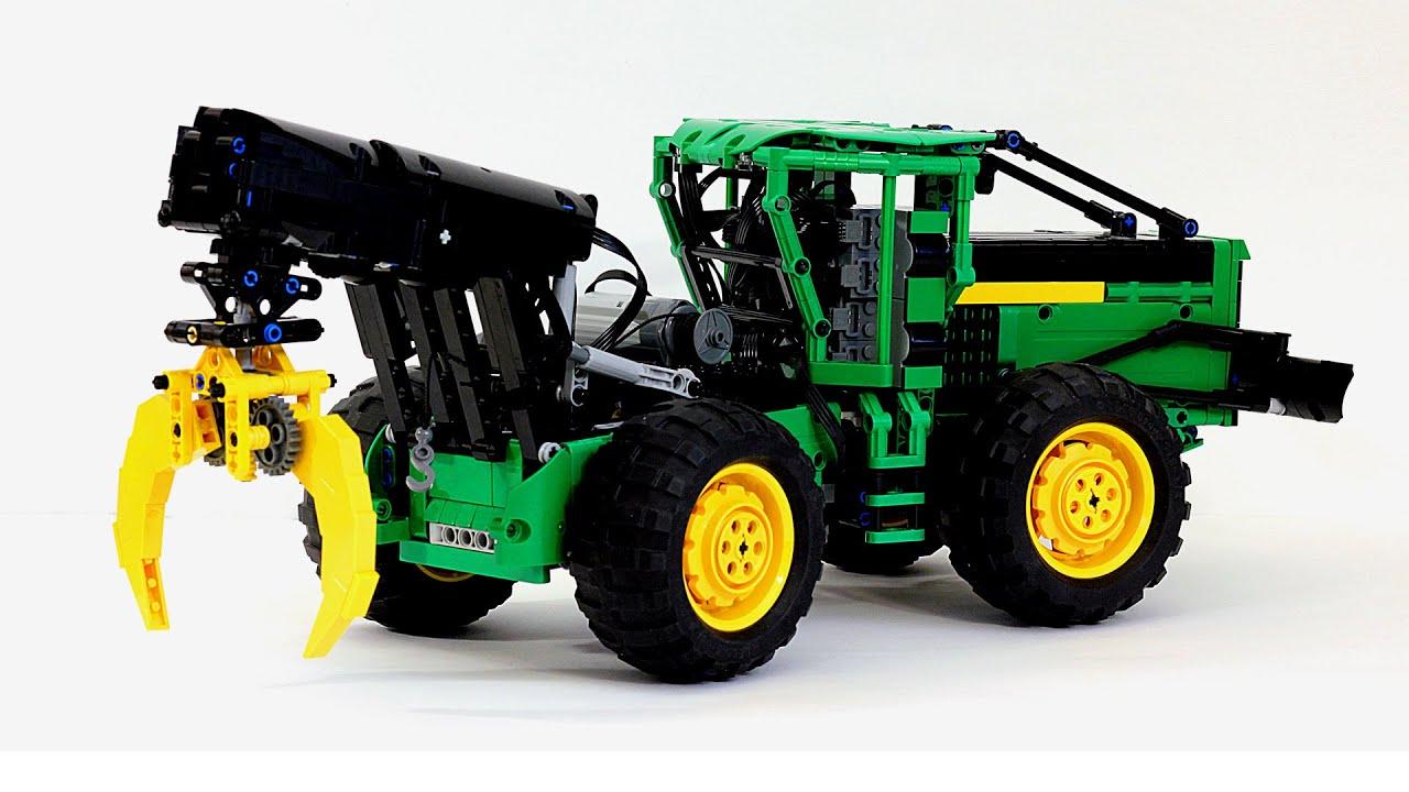 Lego Technic John Deere 648l Skidder Лего Техник Скиддер