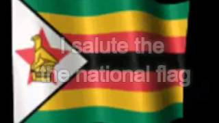 Zimbabwe National Pledge (+John 3:16)
