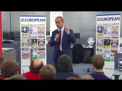 Q&A with Tim Farron at The New European
