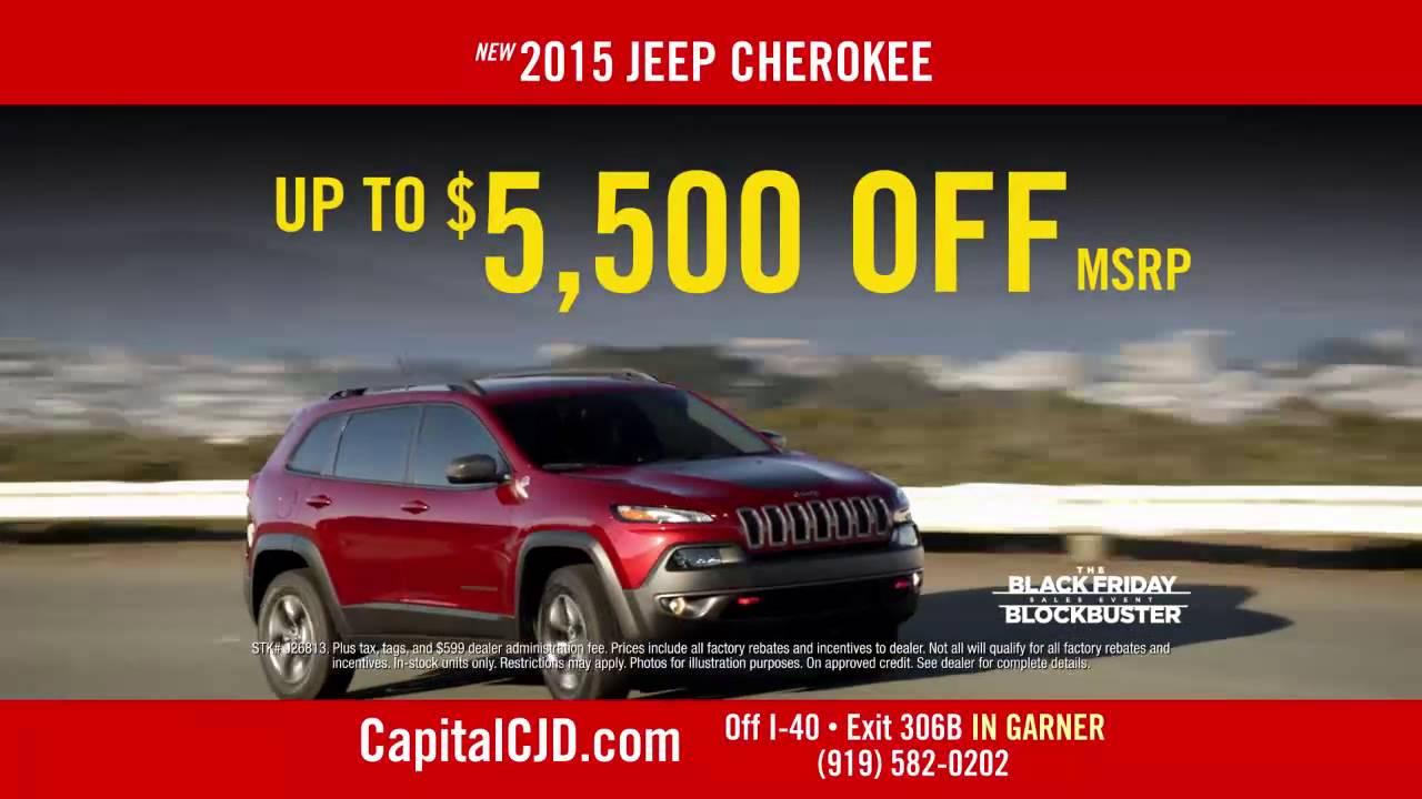 Capital Chrysler Jeep Dodge Ram Black Friday Blockbuster 2 1
