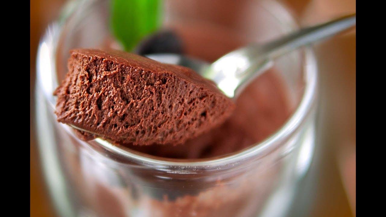 Recette Mousse Au Chocolat Facile Rapide Et Inratable Les Recettes De Camille Youtube