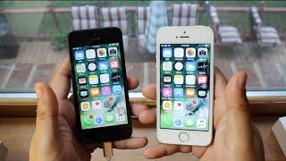 IPhone 5 IOS 10.3.3 Vs IPhone 5S IOS 11 Beta 4!