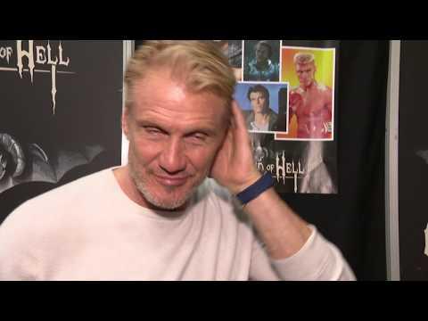 Dolph Lundgren Interview - spricht deutsch / speaks german at best WEEKEND OF HELL Dortmund