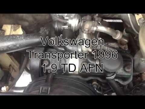 VolksWagen Transporter T4 AFN удаление EGR