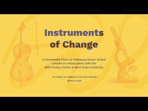 Instruments of Change: Hathaway Brown School Community Poem