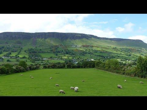 Landscape - Glenariff Waterfalls to Hidden Village of Galboly - County Antrim - Northern Ireland