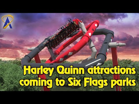 Harley Quinn themed attractions coming to Six Flags parks in 2018