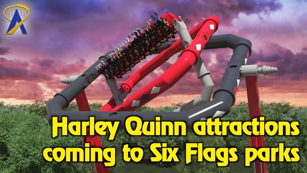 db999209844fdf Harley Quinn themed attractions coming to Six Flags parks in 2018 ...