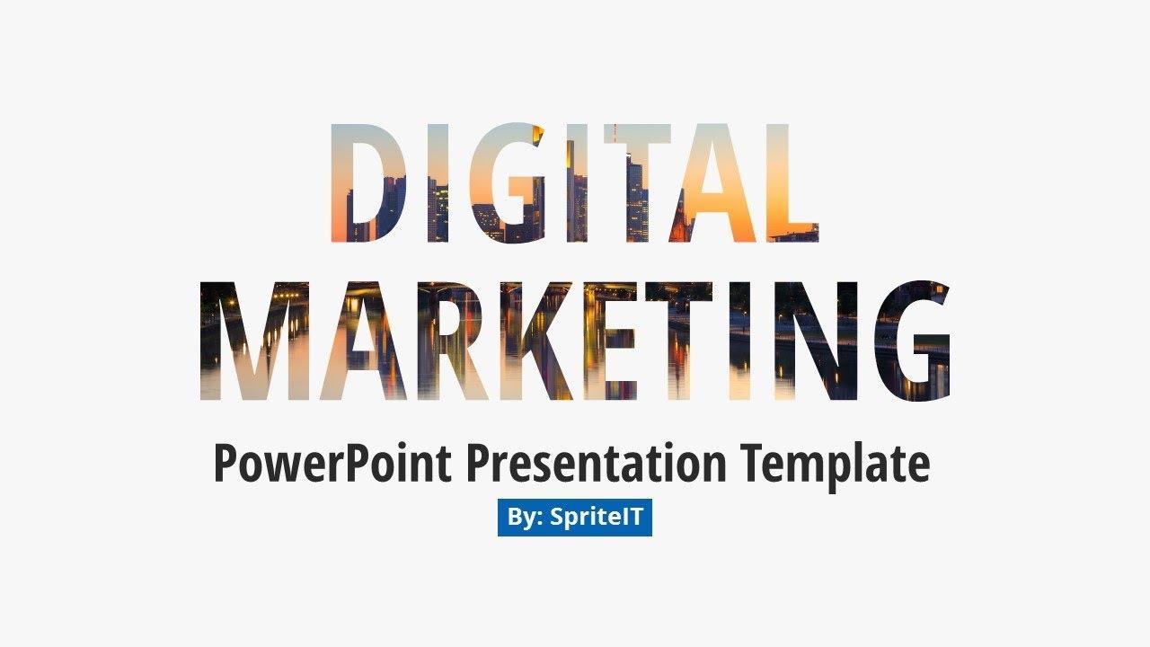 Digital Marketing And Social Media Ppt Pitch Deck
