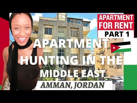 Apartment Hunting In The Middle East    Amman, Jordan     AFRICAN AMERICAN EXPAT    Ep.#39 Part 1