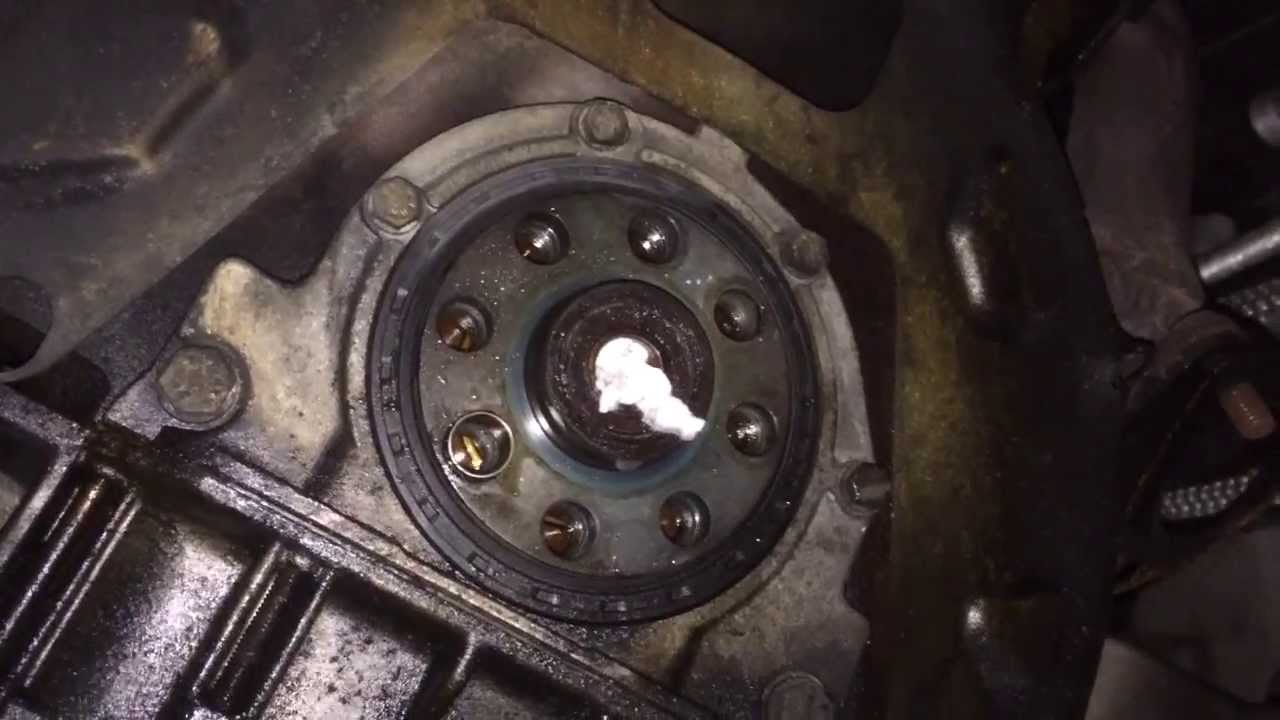 Pilot Bearing Removal Using Water And Paper Youtube