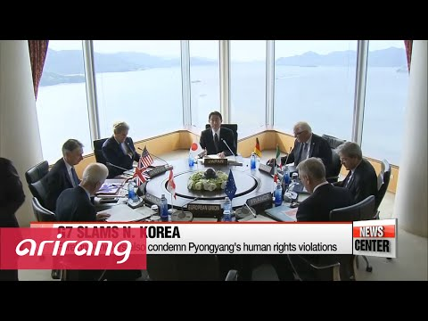 N. Korea's provocations make nuclear disarmament harder: G7