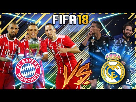 FIFA 18: Krankes ONLINE Match 😱🔥 BAYERN gegen REAL MADRID 💯