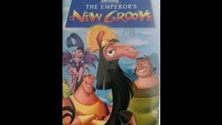 Opening To The Emperor's New Groove 2001 VHS
