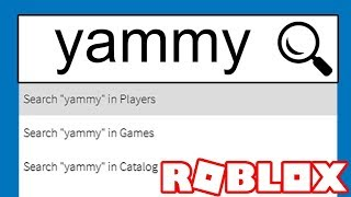 I TYPED MY NAME INTO ROBLOX AND THIS IS WHAT HAPPENED
