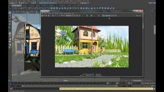 Создание 3-D мультфильмов в программе MAYA. Урок 8. Рендеринг мультфильма