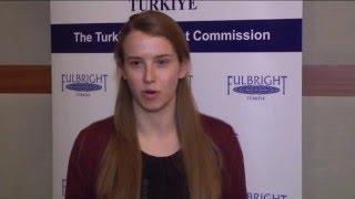 Sarah Grace Hubbard, 2015 2016 ETA Program, Kırklareli University, Kırklareli