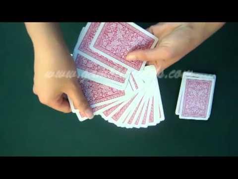 пластиковые карты--Fournier 2818-Red1--покер обман.avi