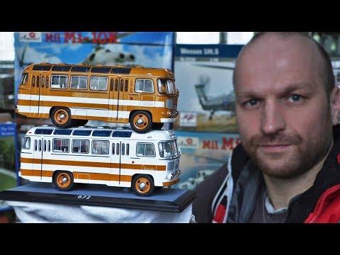 """Обзор двух автобусов Паз-672 """"ClassicBus"""" /Моя коллекция Пазов/ Много Пазиков не бывает..."""