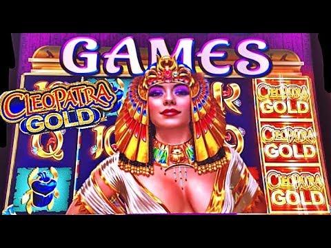 CLEOPATRA GOLD slot machine BONUS WINS! - 동영상
