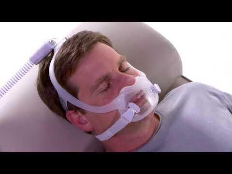 DreamWear Full Face   Adjusting For Leaks   Philips