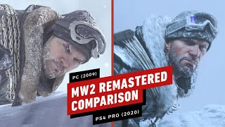 Call of Duty: Modern Warfare 2 Remastered Graphics Comparison (PC Vs. PS4 Pro)