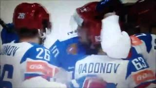 Хоккей Россия-Казахстан 6:4 Чемпионат мира-2016 / Ice Hockey Worlds Russia vs Kazakhstan 6:4