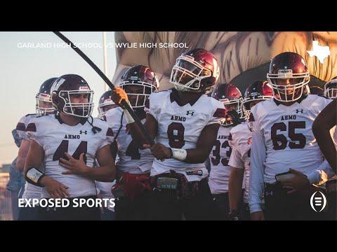 Garland High School vs Wylie High School Football Highlights   2019 Texas Football
