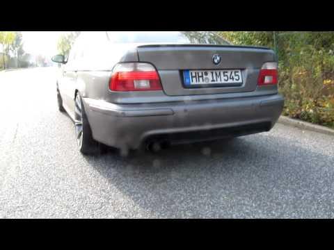 BMW E39 530dA with KBR Exhaust Part 1/3