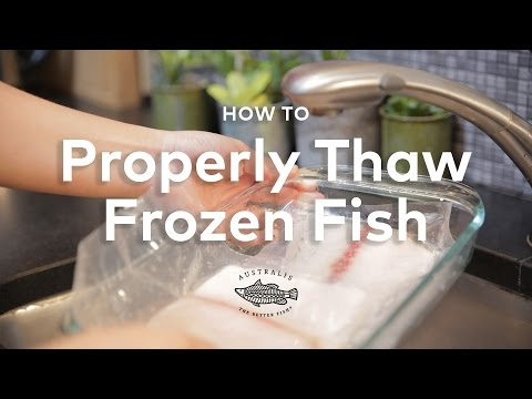 How To Properly Quick Thaw Frozen Fish